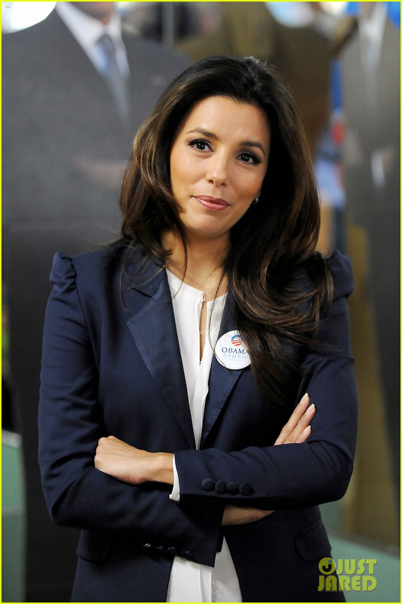 eva longoria campaigns for obama in west palm beach 15