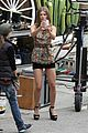 annalynne mccord camera phone fun on 90210 set 07