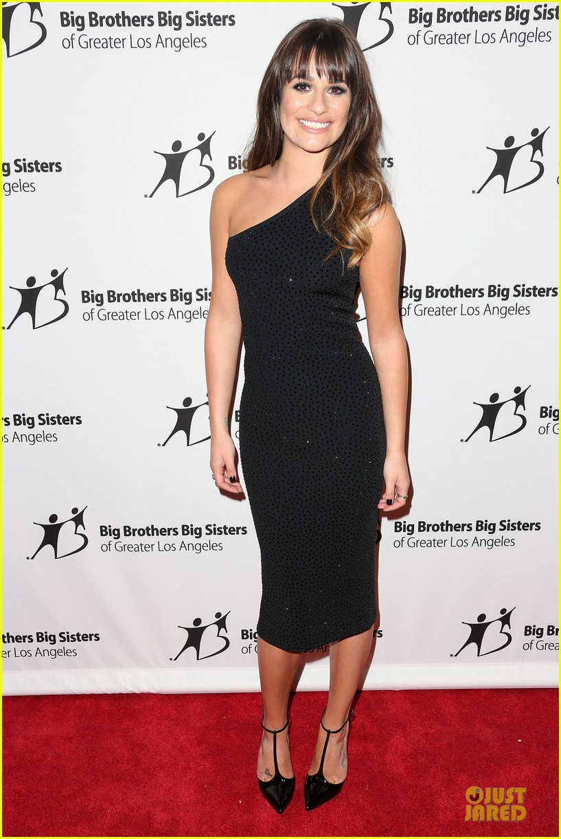 lea michele big brothers big sisters stars gala 05