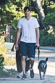 mila kunis ashton kutcher dog walking duo 15