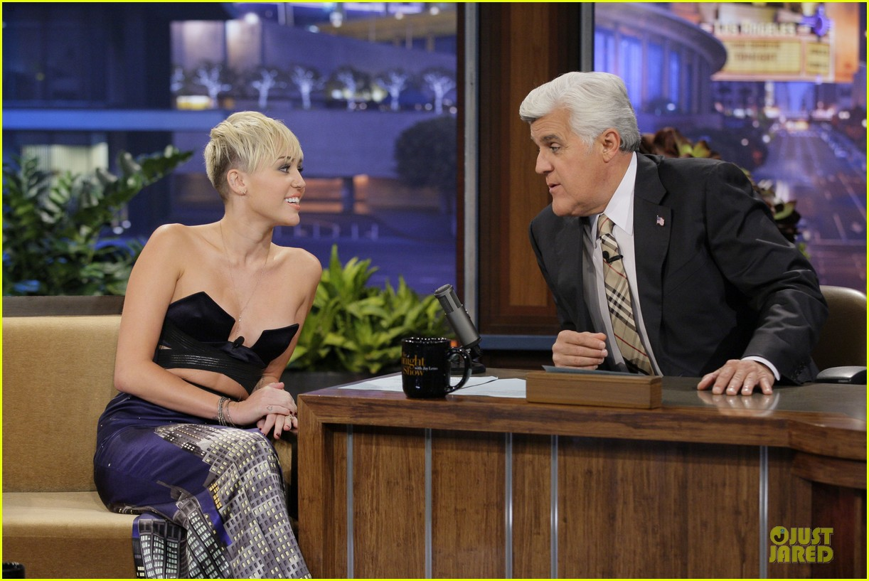 miley cyrus tonight show with jay leno 042737462