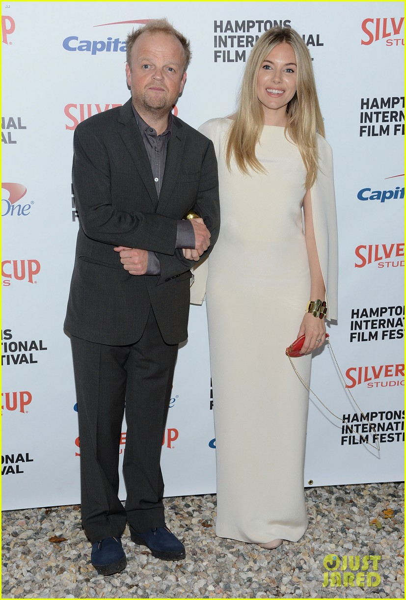 sienna miller hamptons film festival with toby jones 30