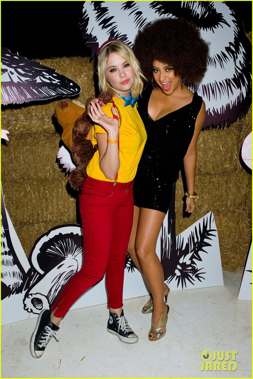shay mitchell just jared halloween party 2012 15