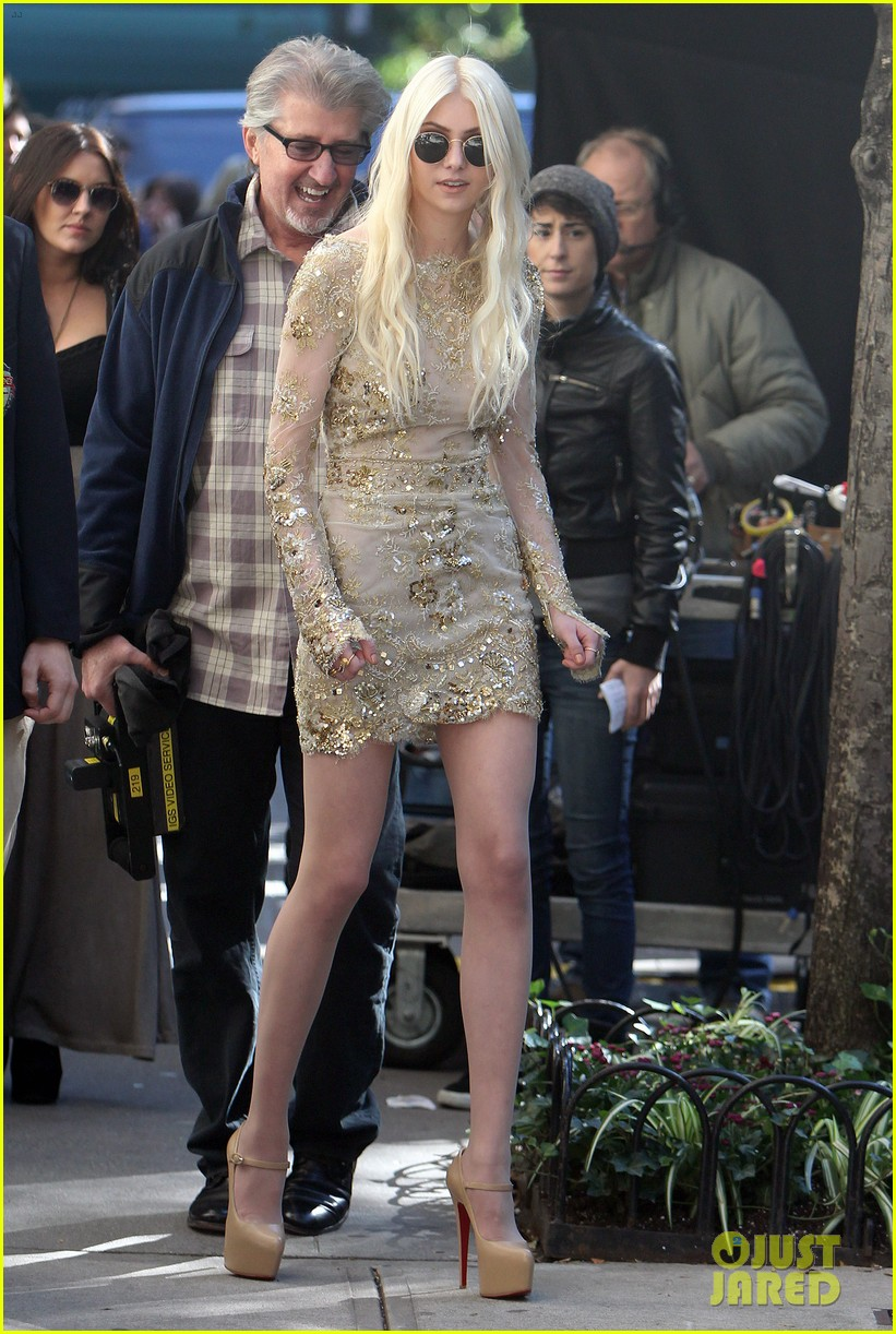 taylor momsen gossip girl return with blake lively 012739227