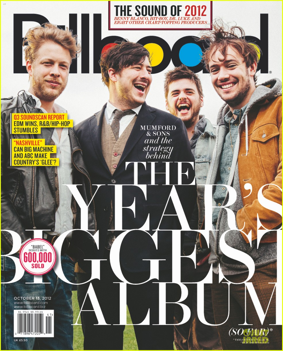 mumford & sons billboard cover 062733676