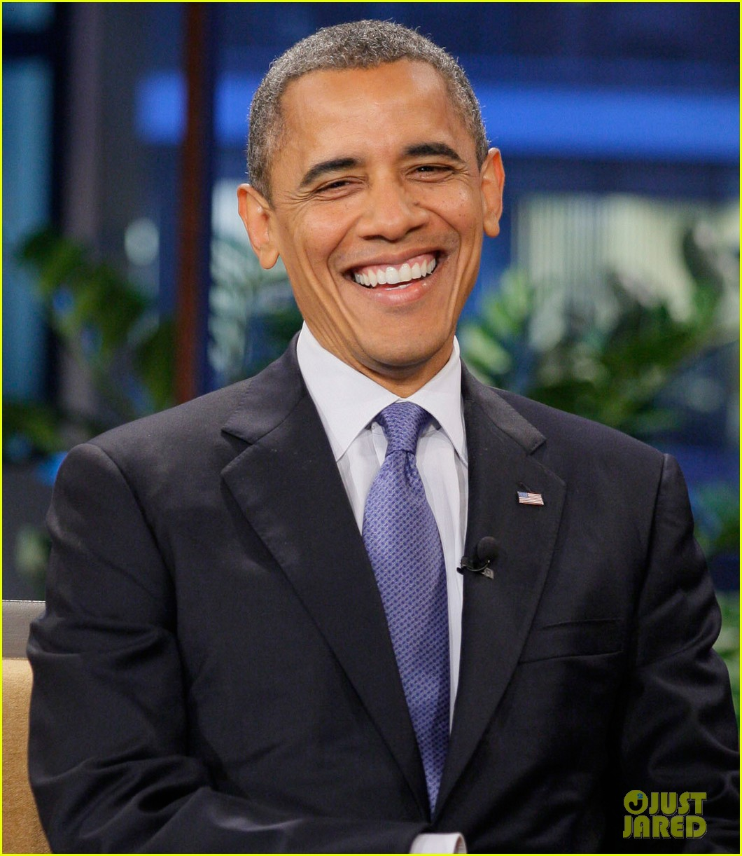 barack obama tonight show with jay leno appearance 042744611