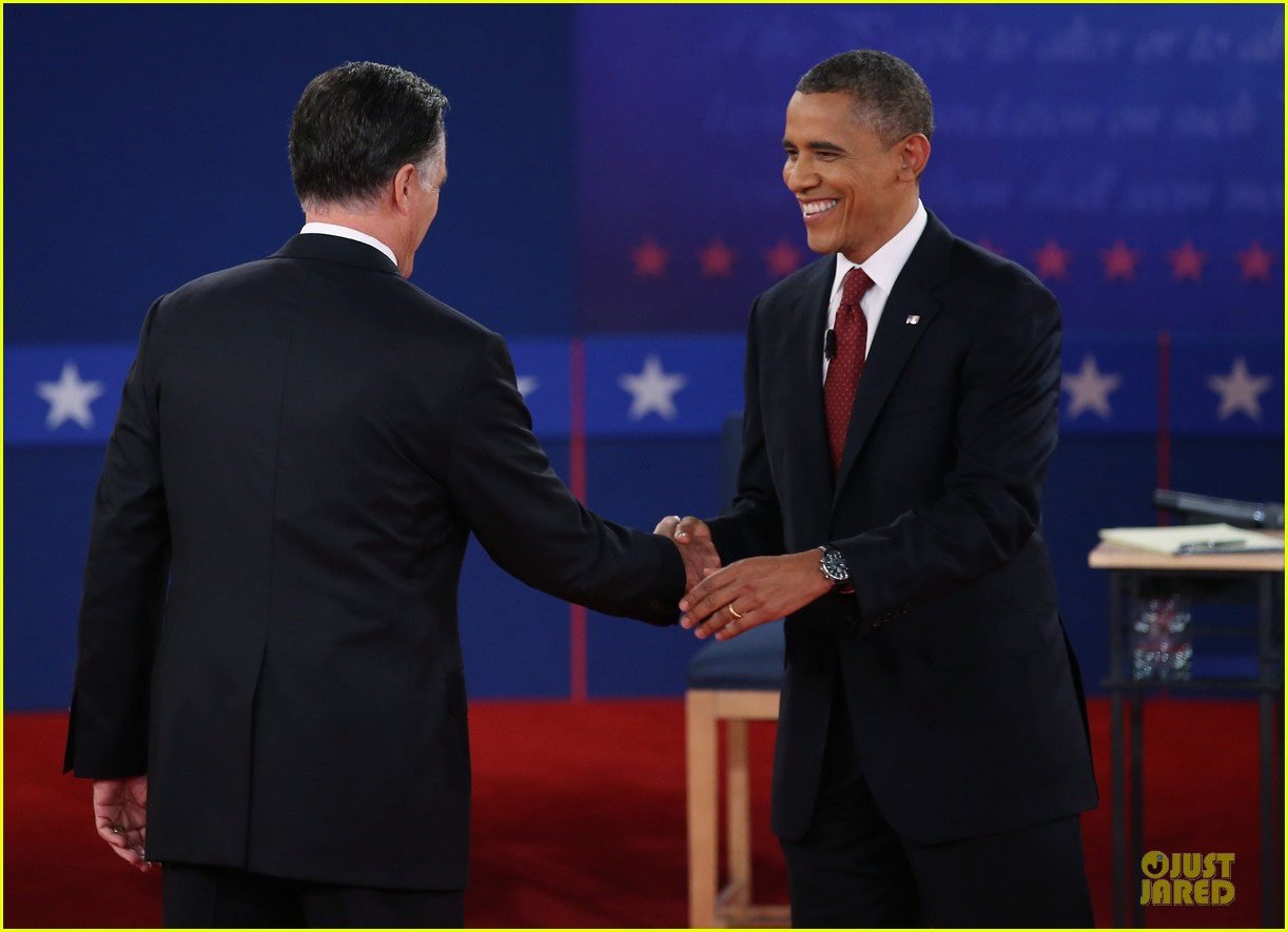 barack obama mitt romney second presidential debate 01