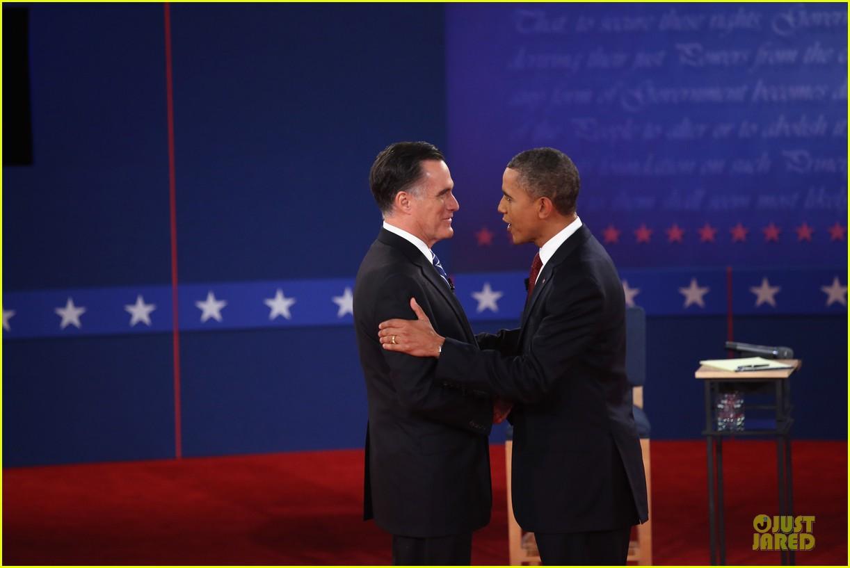 barack obama mitt romney second presidential debate 09