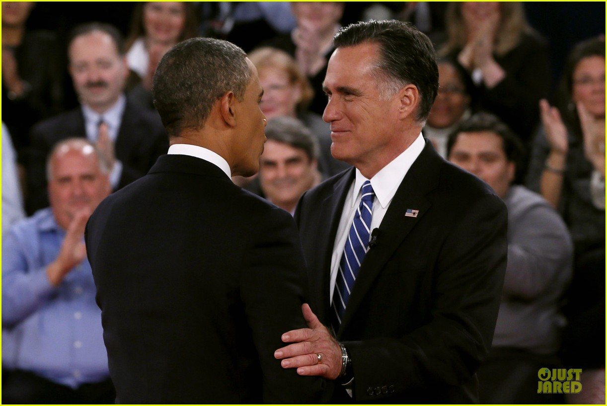 barack obama mitt romney second presidential debate 12