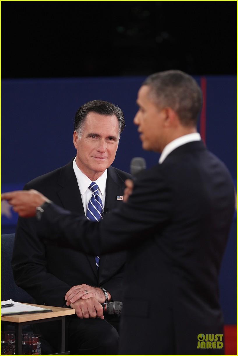 barack obama mitt romney second presidential debate 26