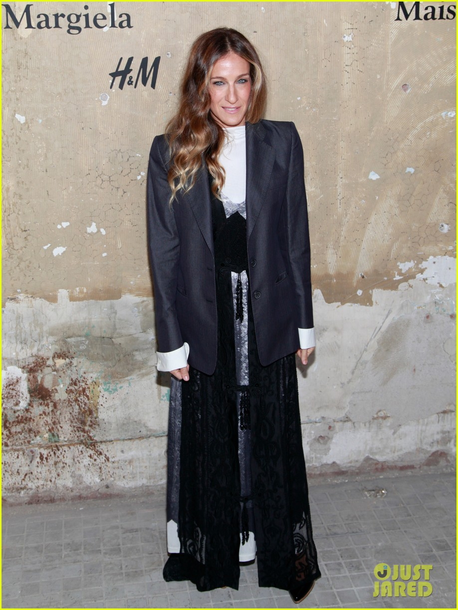 sarah jessica parker maison martin margiela for hm party 022743967
