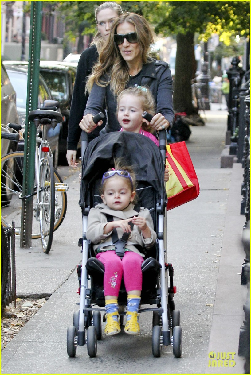 sarah jessica parker school walk with james marion tabitha 192743834