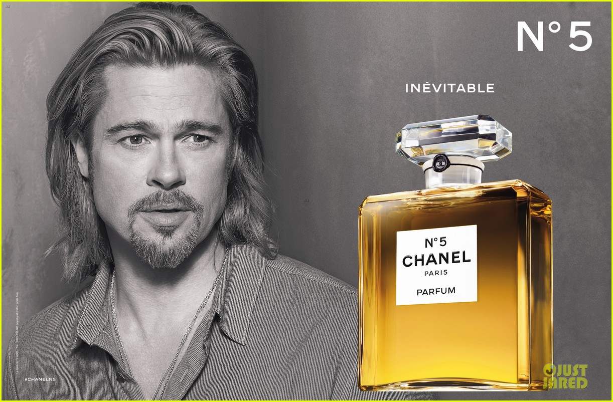 brad pitt chanel no 5 fragrance ad campaign. Black Bedroom Furniture Sets. Home Design Ideas