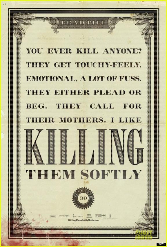 brad pitt new killing them softly posters 06