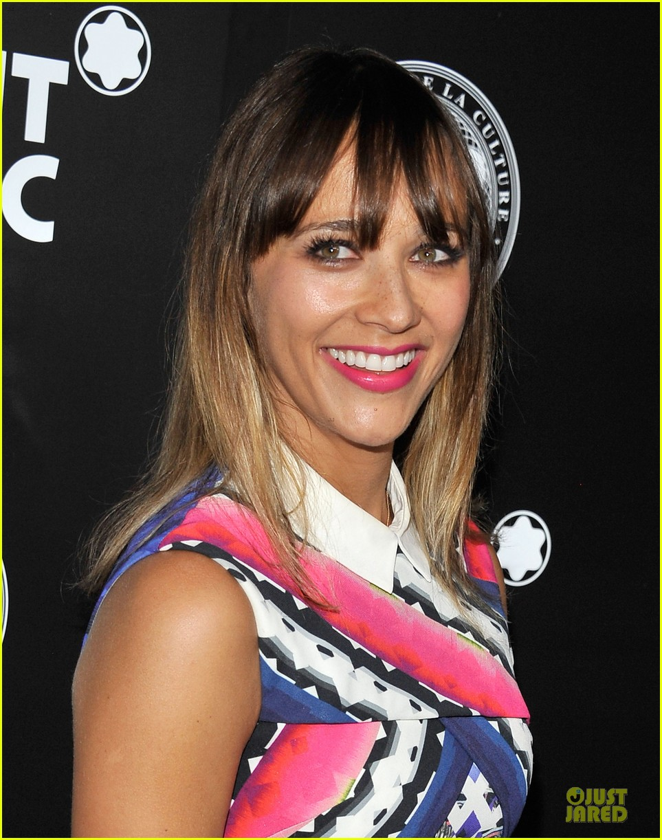 rashida jones jesse williams montblac awards 11