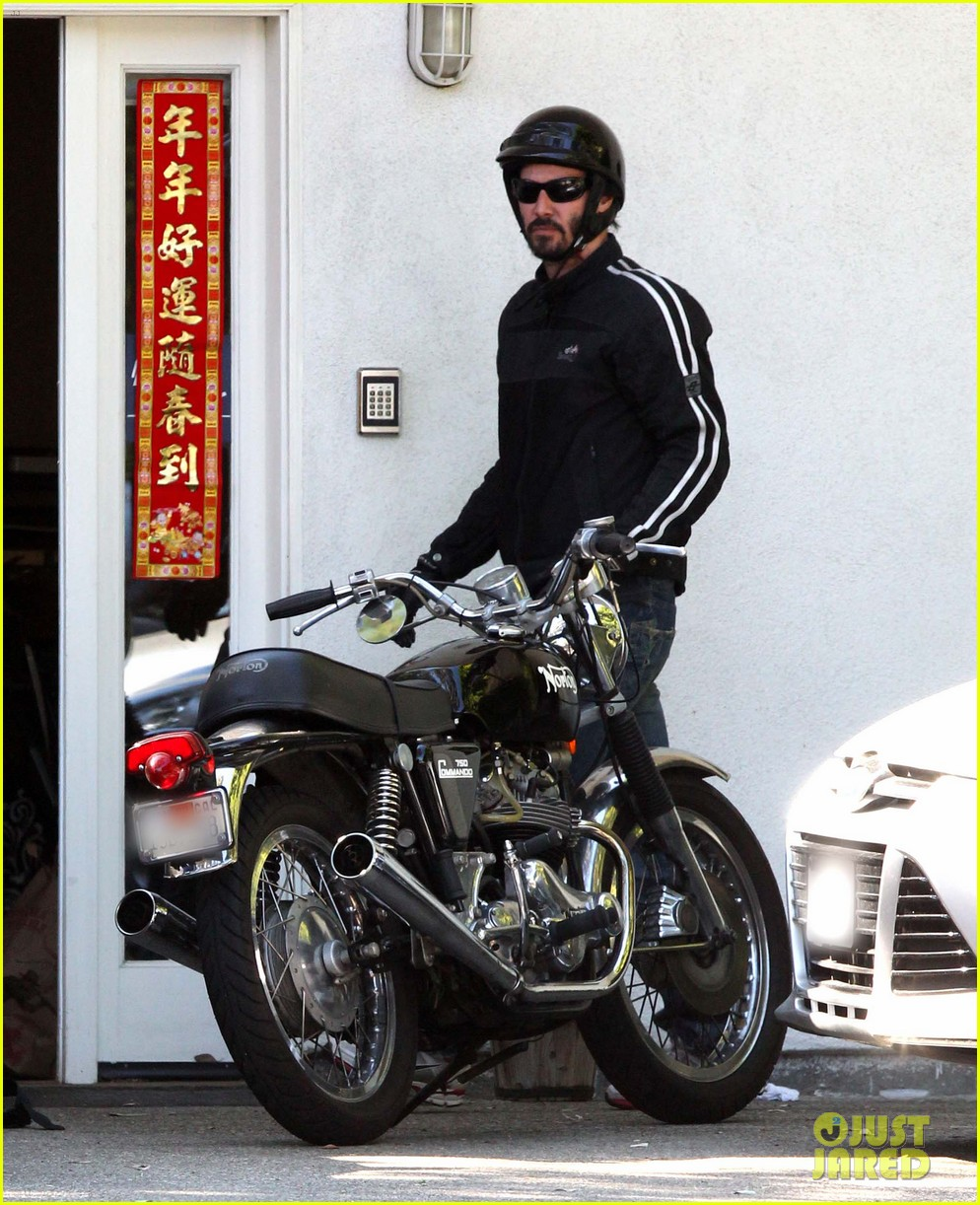 keanu reeves biker dude 08