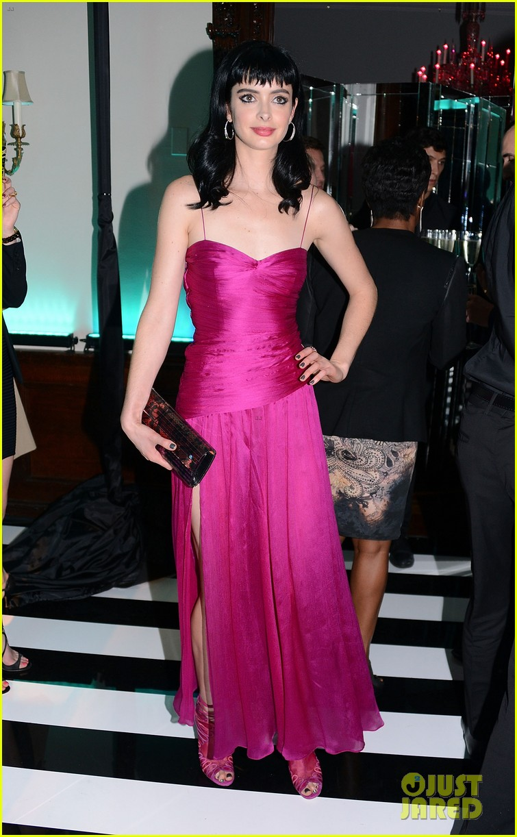 krysten ritter jimmy choo collection launch 01