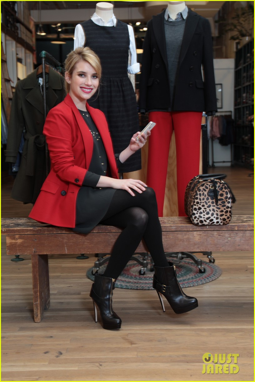 emma roberts snapettes fashion app newest advisor 03