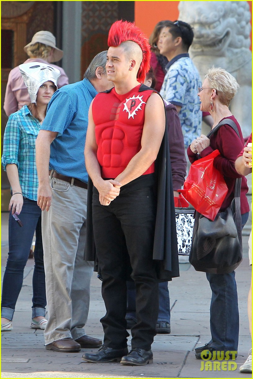 mark salling glee superhero 03