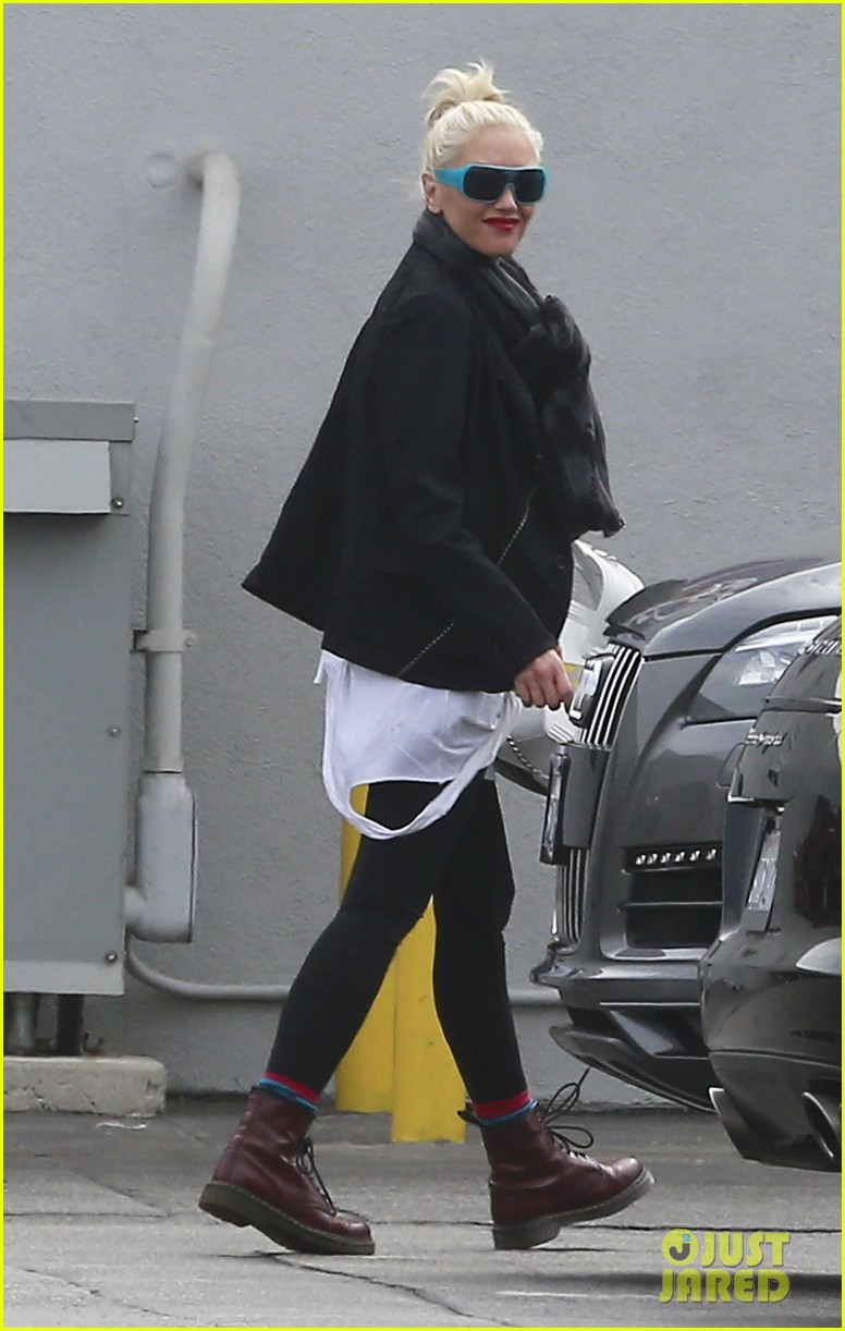 gwen stefani gavin rossdale coffee run studio city 03