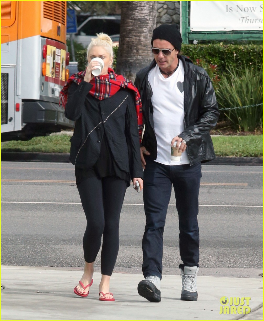 gwen stefani gavin rossdale coffee run studio city 142736550
