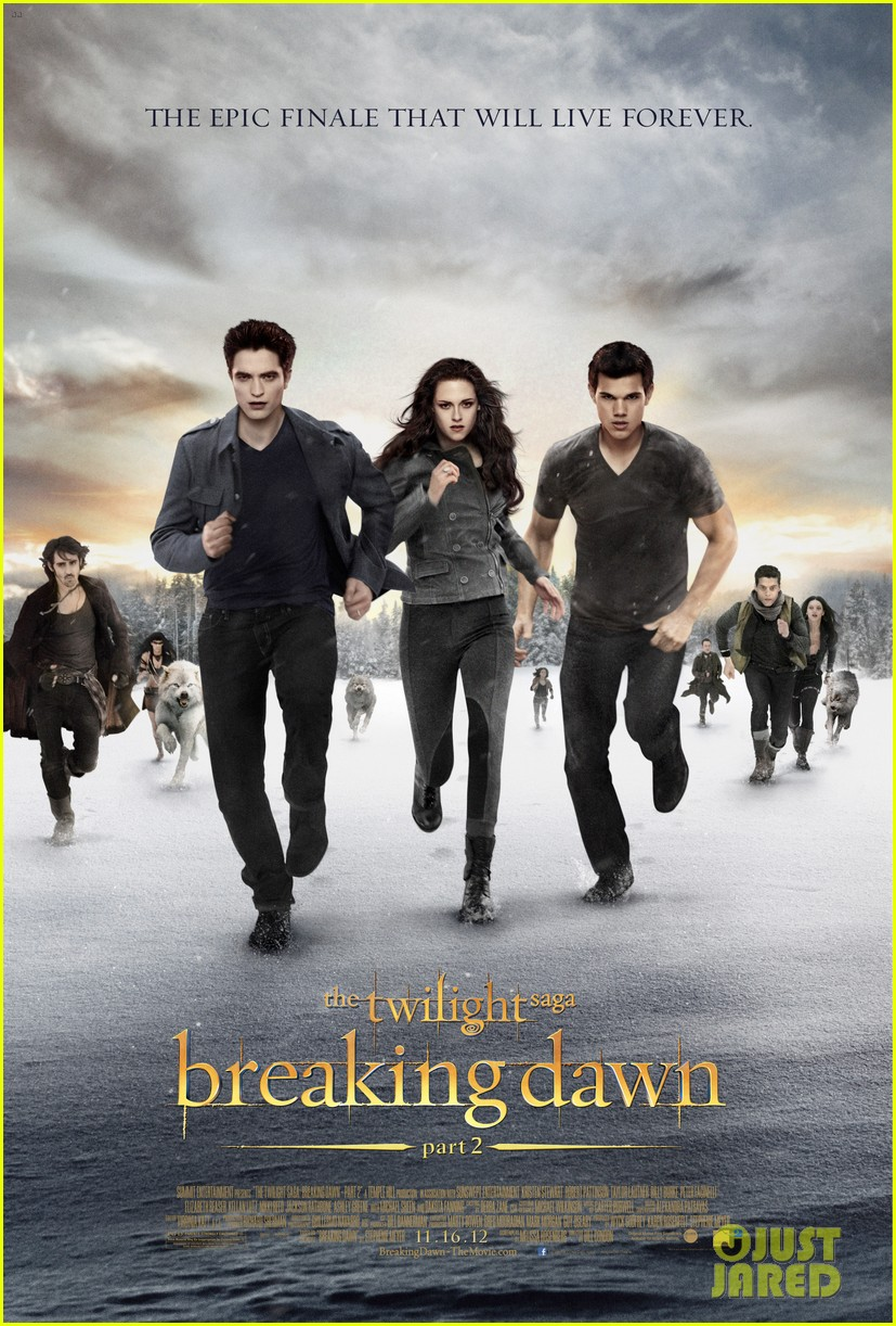 kristen stewart robert pattinson twilight saga breaking dawn part 2 final poster revealed 01