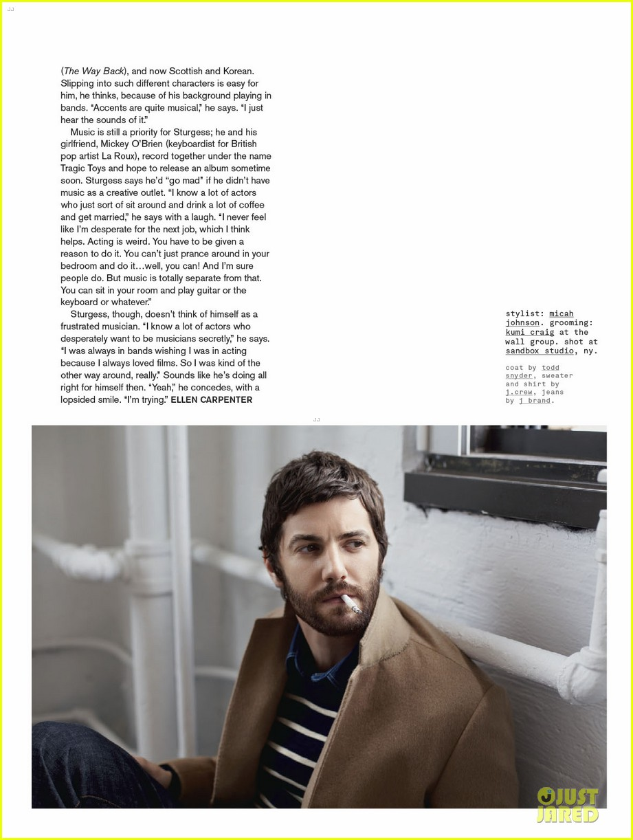 jim sturgess nylon magazine feature 05