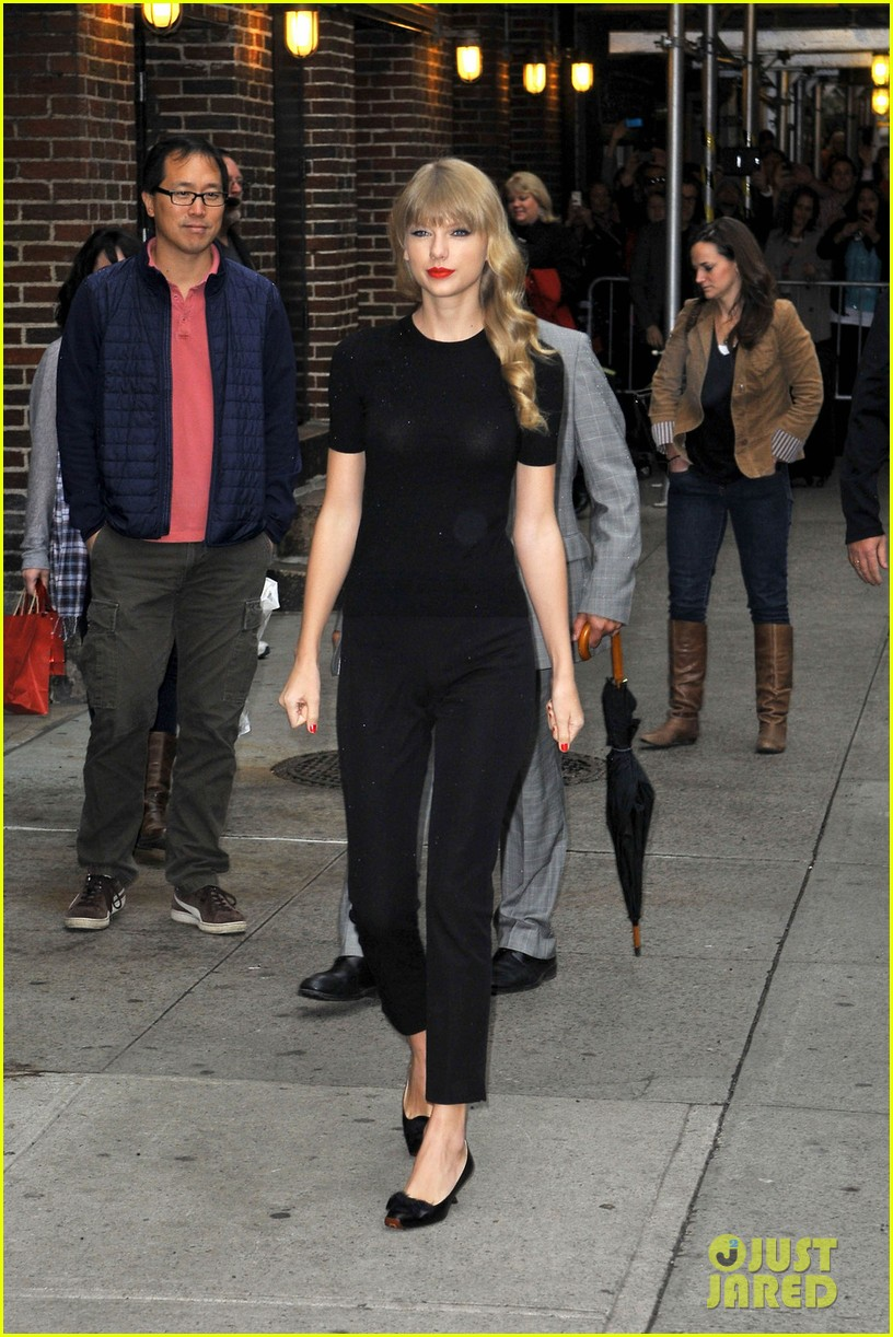 taylor swift late show with david letterman guest 01