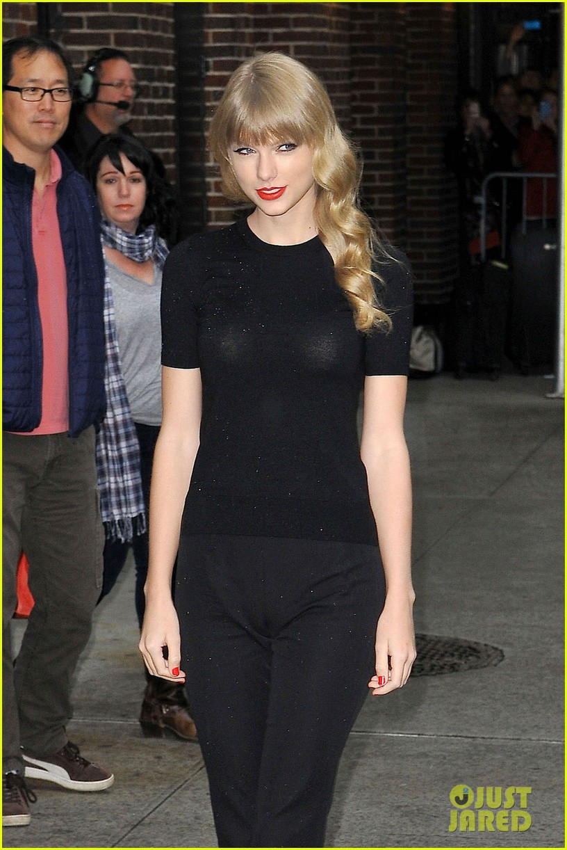 taylor swift late show with david letterman guest 06