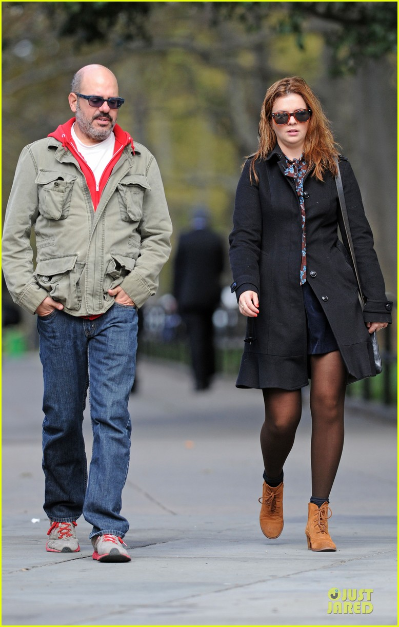 amber tamblyn david cross post wedding stroll 042737830