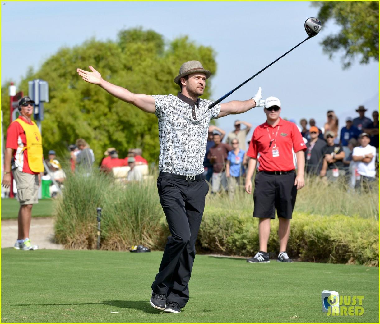 justin timberlake shriners hospital golf tournament 07