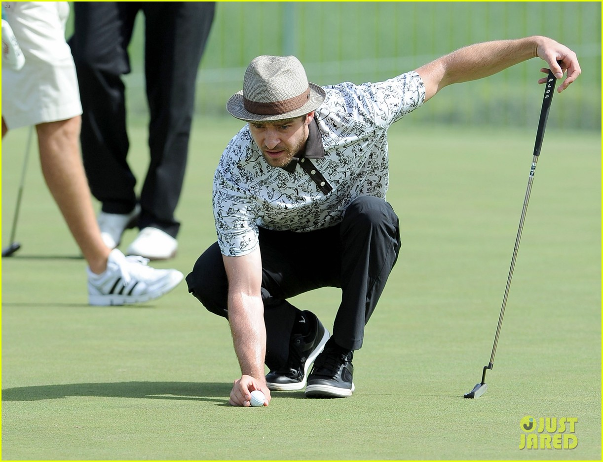 justin timberlake shriners hospital golf tournament 23