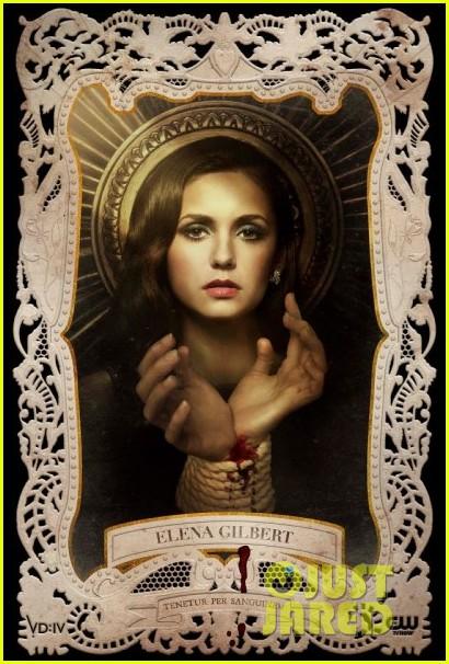 nina dobrev ian somerhalder new vampire diaries posters 012736974
