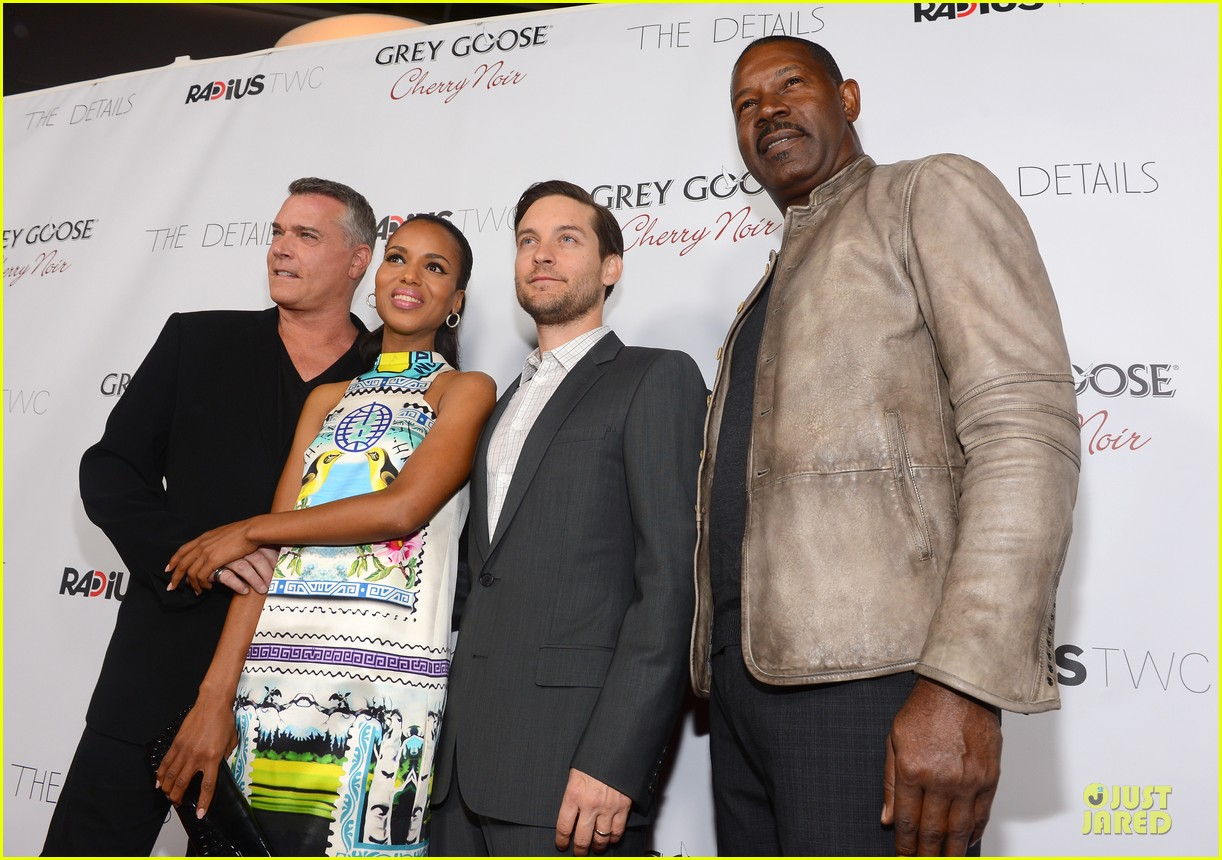 kerry washington tobey maguire the details hollywood premiere 14