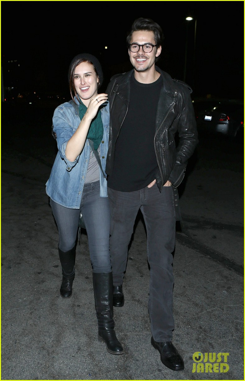 rumer willis jayson blair clubbing couple 03
