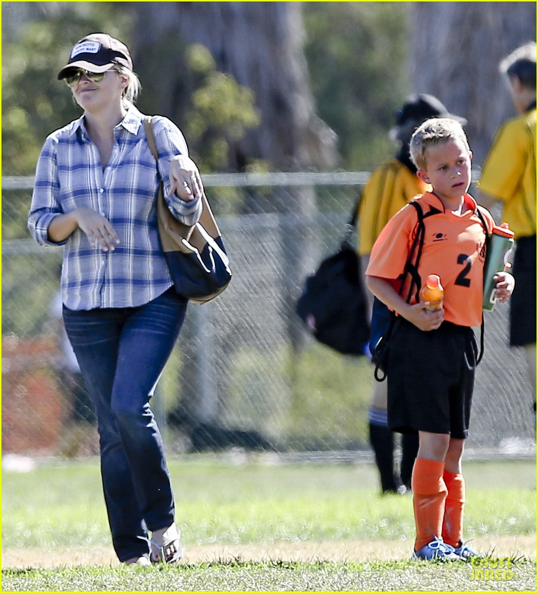 reese witherspoon soccer saturday with deacon 252746332