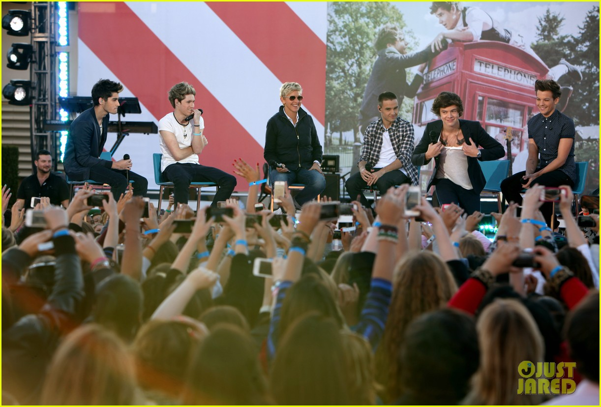 one direction visits the ellen show 032756301