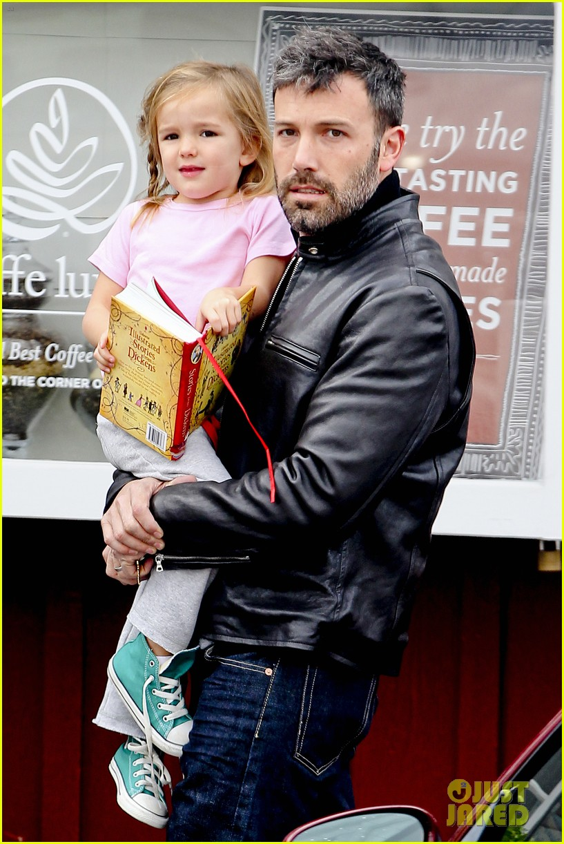 ben affleck daddys day with violet seraphina 212754051