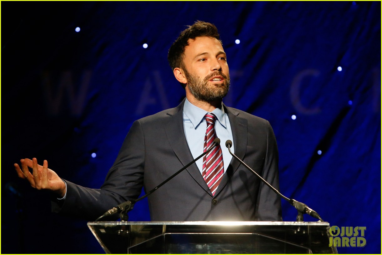 ben affleck human rights watch guest speaker 09