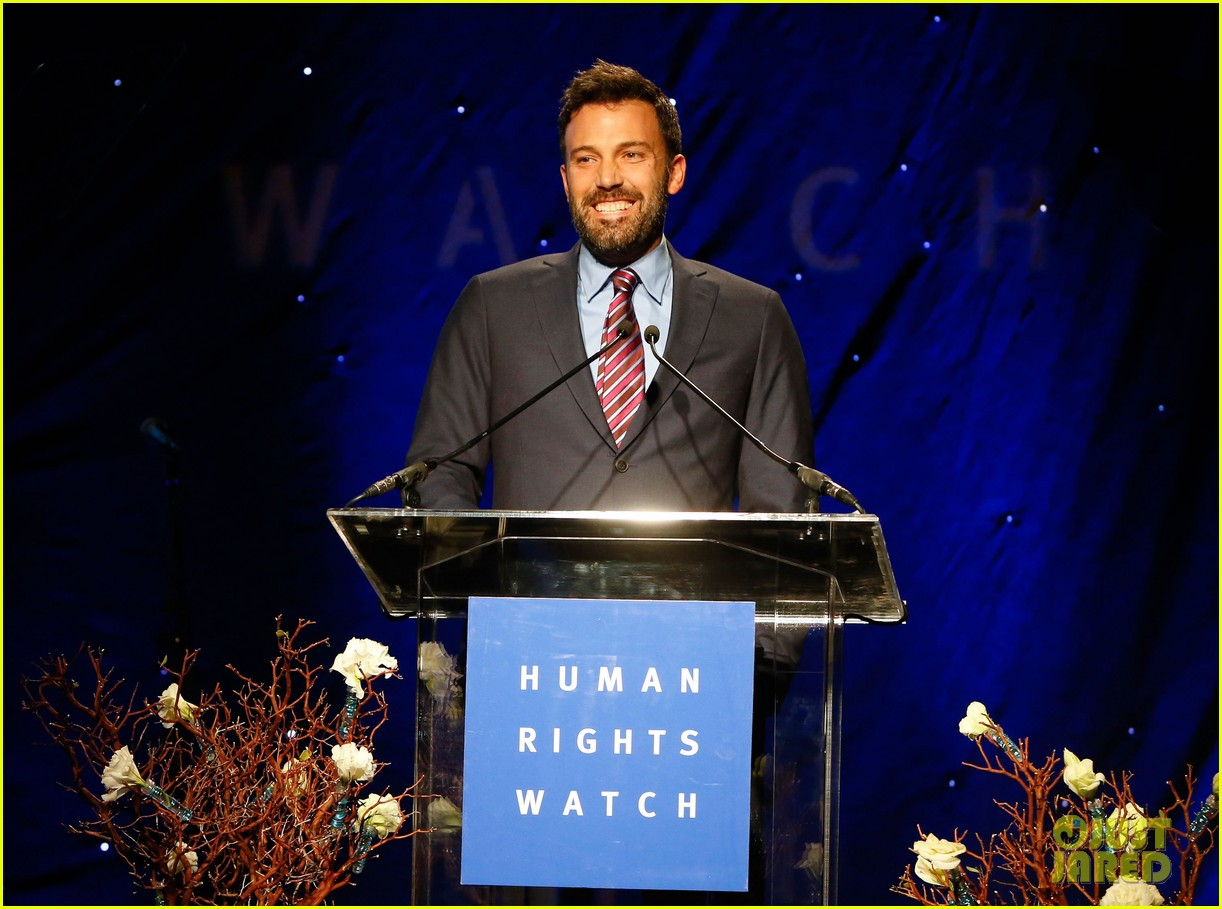 ben affleck human rights watch guest speaker 142756627