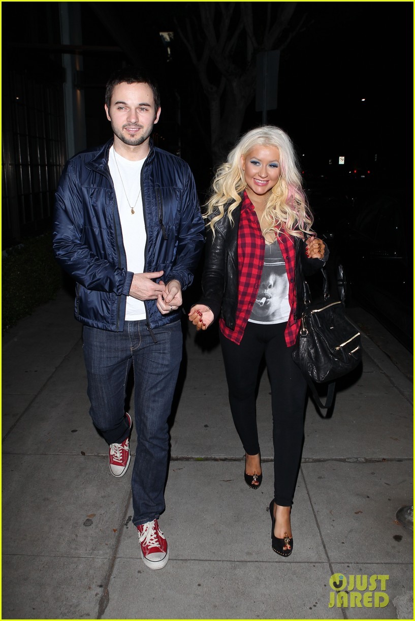 christina aguilera matthew rutler osteria mozza date night 072764486