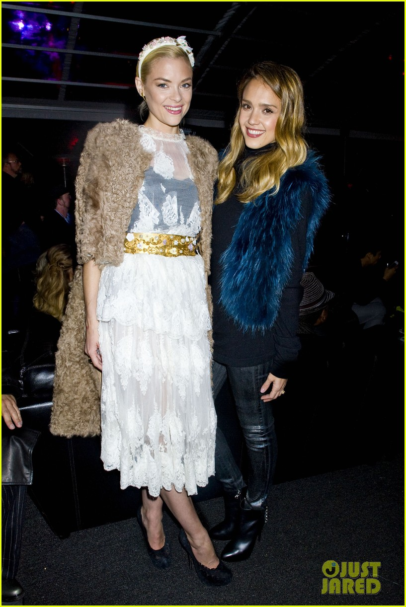 jessica alba jaime king sin city 2 production launch party 06
