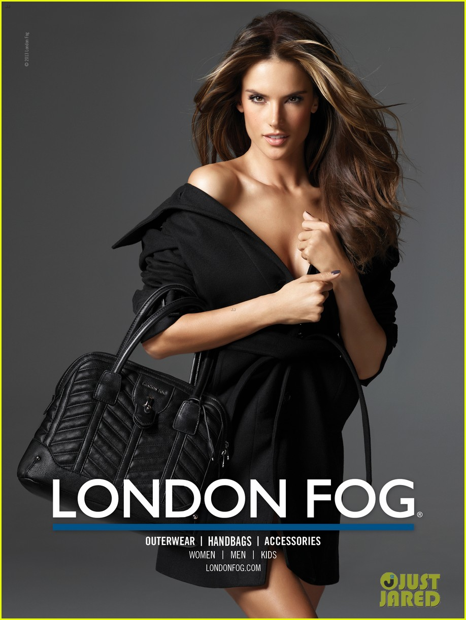 alessandra ambrosio london fog campaign with anja 05