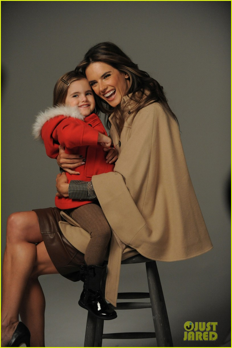 alessandra ambrosio london fog campaign with anja 12