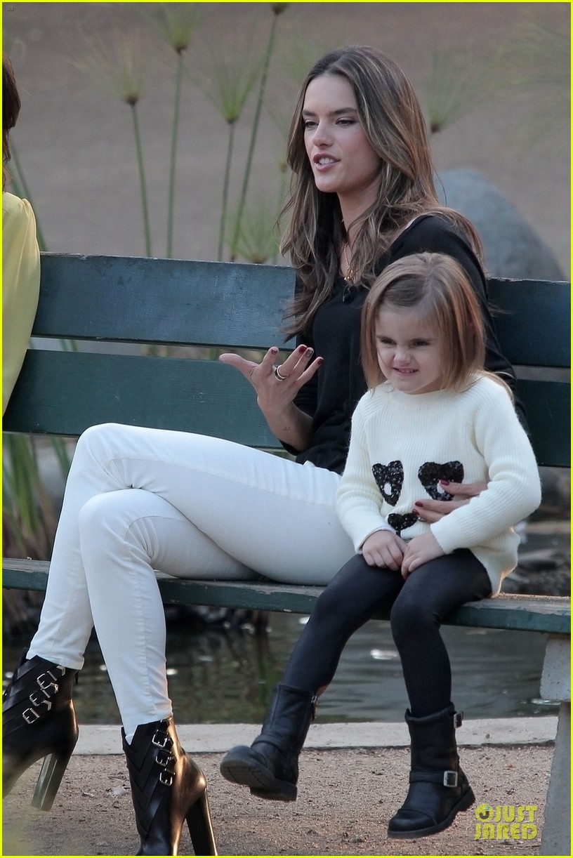 alessandra ambrosio park date with anja 062759321