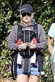 anna faris family walk with baby jack 18