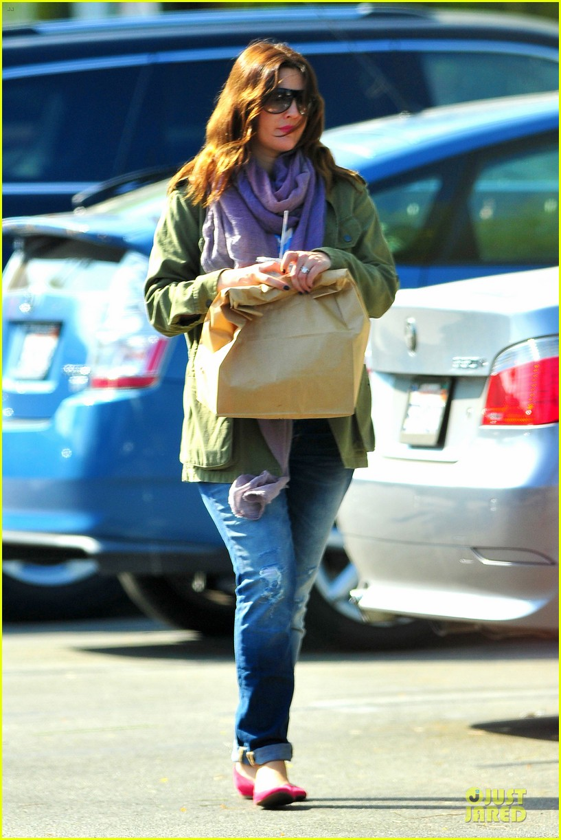 drew barrymore culver city lunch stop 10