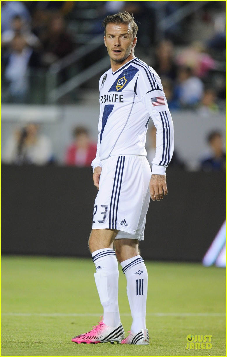 david beckham galaxy game with the boys 13