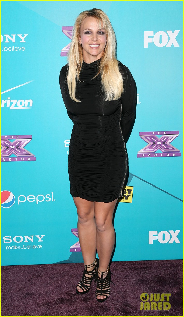 britney spears demi lovato x factor finalists party 06