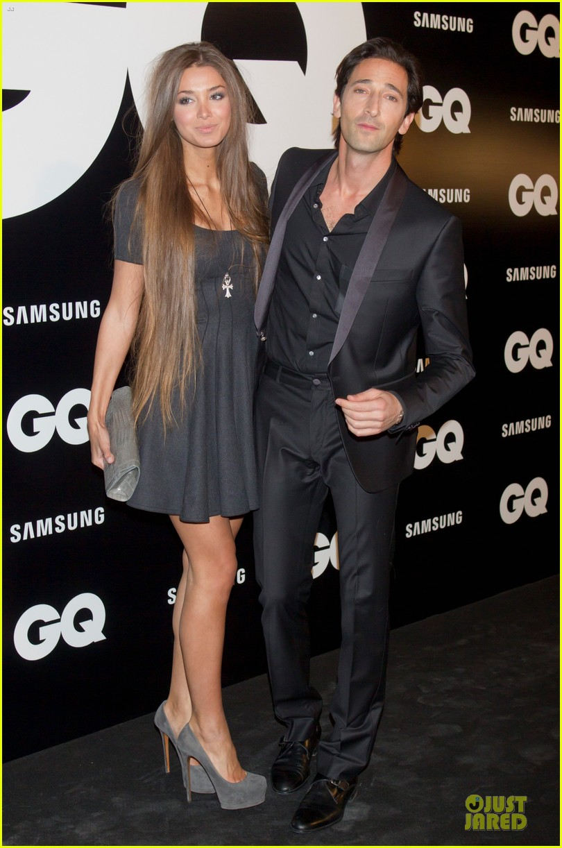 adrien brody lara lieto gq awards in madrid 112761193